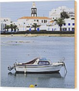 Arrecife On Lanzarote Wood Print