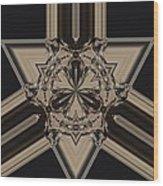 Arrow Of Jewels Wood Print