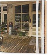 Arrow Rock Mo Post Office Dsc00567 Wood Print