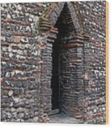 Arrowhead Doorway Wood Print