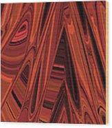 Arroyo 2 Wood Print