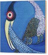 Art Bird Wood Print