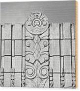 Art Deco Design Wood Print