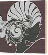 Art Deco Wood Print by Diane Wood