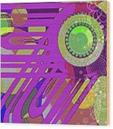 Art Deco Explosion 7 Wood Print