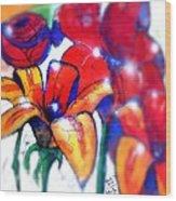 Art In The Eyes 3 Wood Print