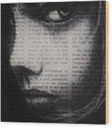 Art In The News 9 Wood Print