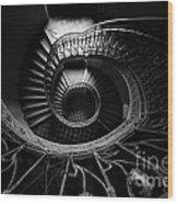 Art Nouveau Staircase Wood Print