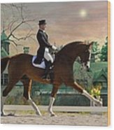 Art Of Dressage Wood Print