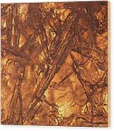 Art Of Ice 4 Wood Print