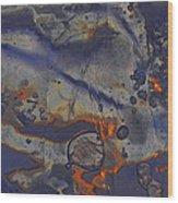 Art Of Ice 5 Wood Print
