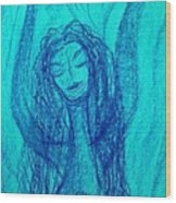 Art Therapy 166 Wood Print