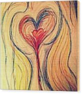 Art Therapy 184 Wood Print