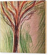 Art Therapy 185 Wood Print