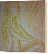 Art Therapy 49 Wood Print