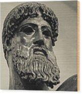 Artemision Zeus Wood Print