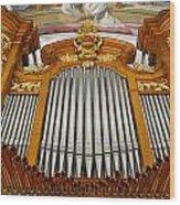 Arth Goldau Organ Wood Print
