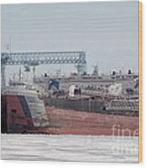 Arthur Anderson Freighter Wood Print
