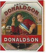 Arthur Donaldson Wood Print