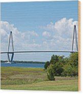 Arthur Ravenel Jr Bridge Wood Print