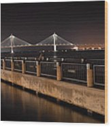 Arthur Ravenel Jr. Bridge Wood Print