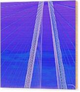 Arthur Ravenel Jr Bridge Iv Wood Print