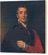 Arthur Wellesley, Duke Of Wellington Wood Print