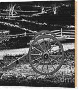 Artillery At Gettysburg Wood Print
