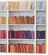 Artisan Linen Shelf Wood Print