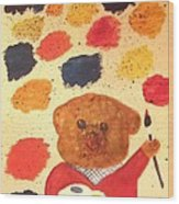 Artisan The Bear Wood Print