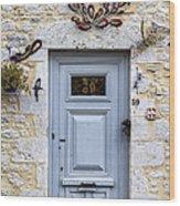 Artistic Door Wood Print by Georgia Fowler