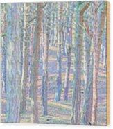 Artistic Trees Wood Print