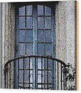 Artistic Window Wood Print