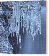 Artistry In Ice 16 Wood Print