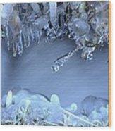 Artistry In Ice 17 Wood Print