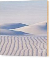 Artistry In The Sand Wood Print
