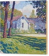 Artists Home Wood Print