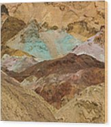 Artist's Paint Palette Abstract Wood Print