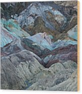 Artist's Palette Wood Print