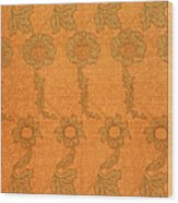 Arts And Crafts Design Wood Print by William Morris