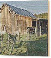 Artwork Barn Wood Print
