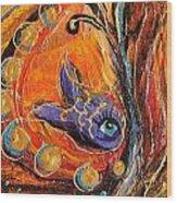 Artwork Fragment 88 Wood Print