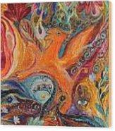 Artwork Fragment 99 Wood Print