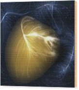 Artwork Of Laniakea Supercluster Wood Print