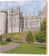 Arundel Castle West Sussex Wood Print