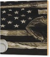 As American As Apple Pie Wood Print