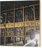 Asbury Park Casino Wood Print