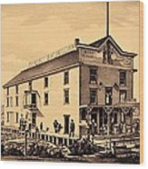 Asbury Park New Jersey Ormerod Boat Builder Wood Print