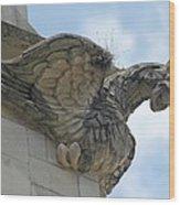 Ascension Gargoyle Wood Print
