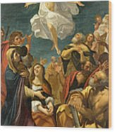 Ascension Of Christ Wood Print
